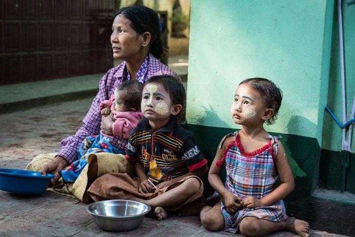Homeless Kids Myanmar