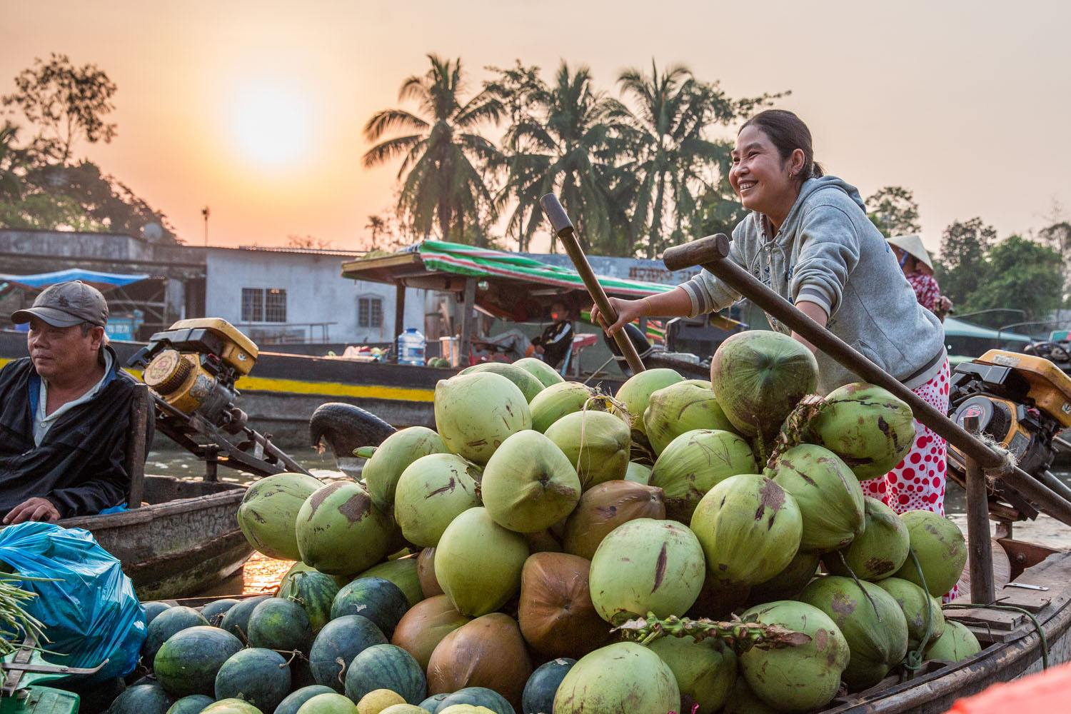 A Day on the Mekong Delta, Vietnam
