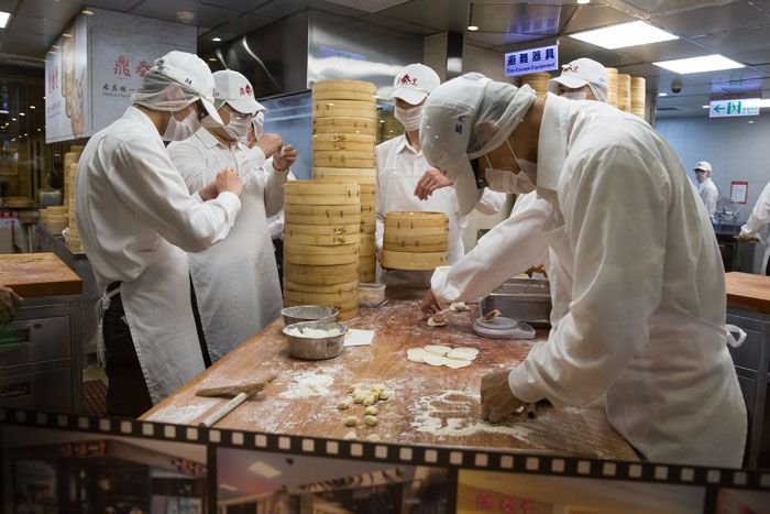 Din Tai Fung Chefs