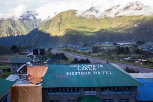 View of Lukla Airport