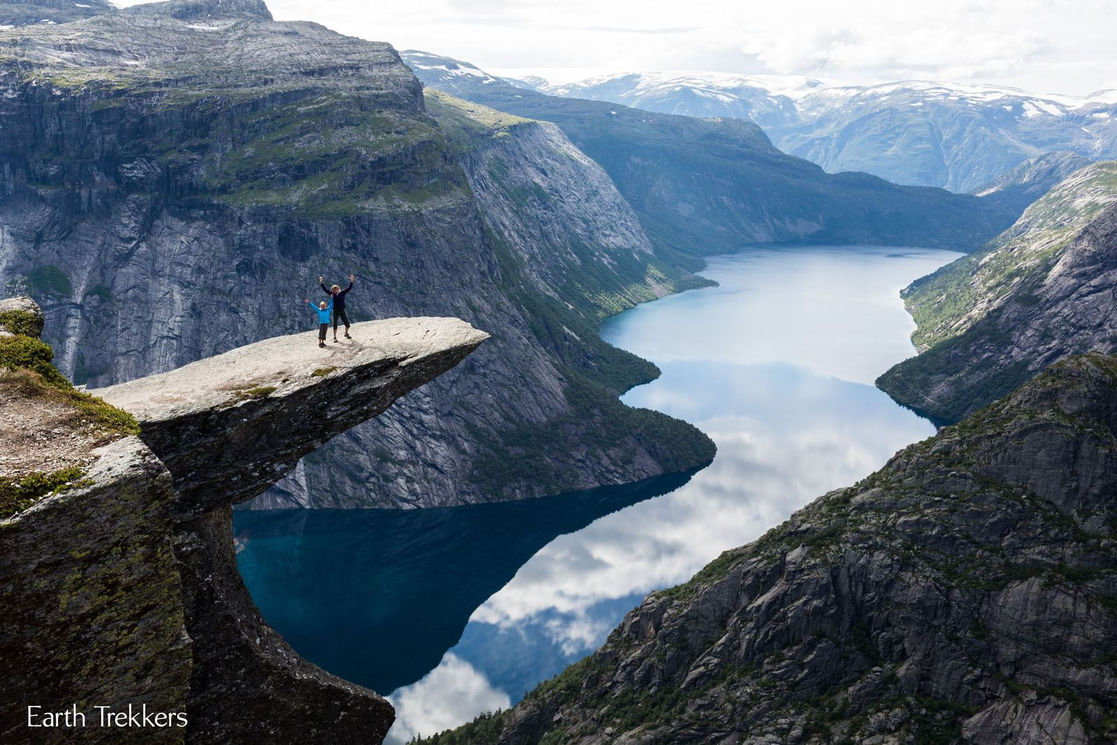 Trolltunga with Kids