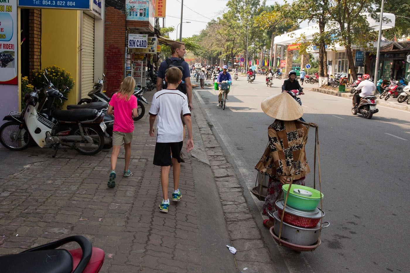 Walking in Hue