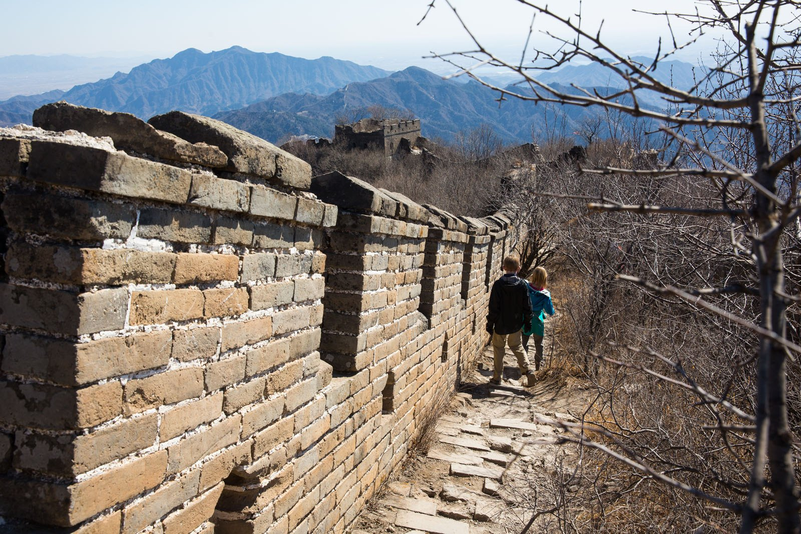Walking on the Wall