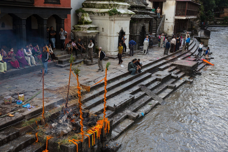 Cremation Ghat Kathmandu