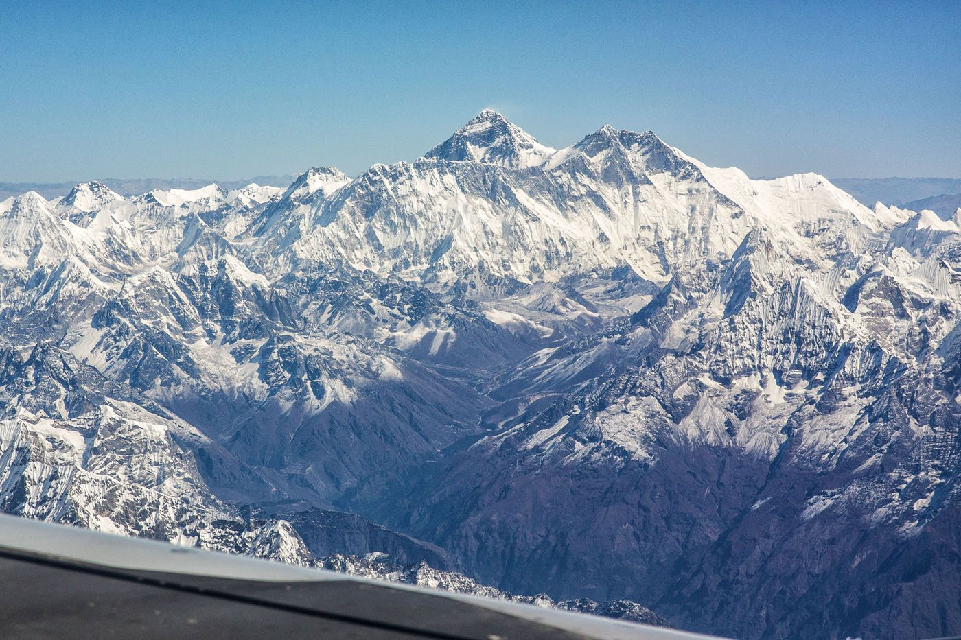 Everest from Airplane