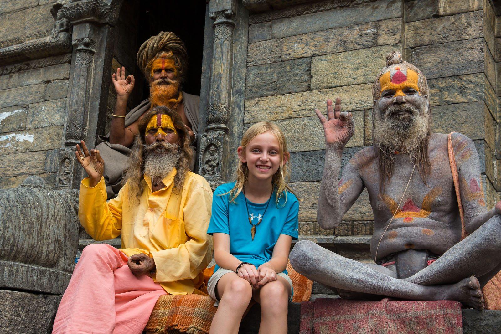 Kara Rivenbark in Kathmandu