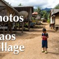 Photos Laos Village