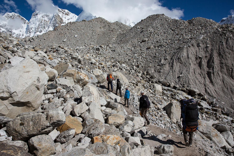 Rocky Trail to EBC