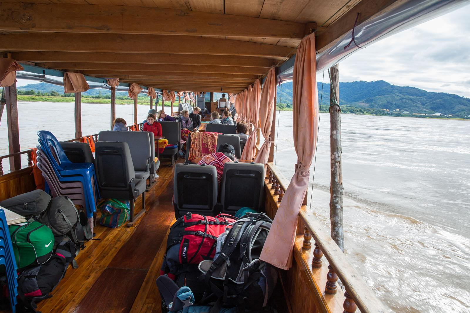 Taking the Slow Boat From Thailand to Laos