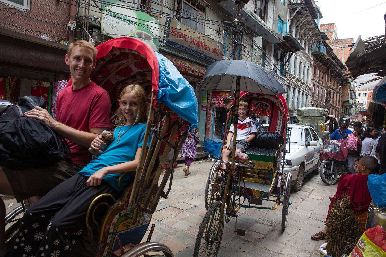 Tuk Tuks Kathmandu