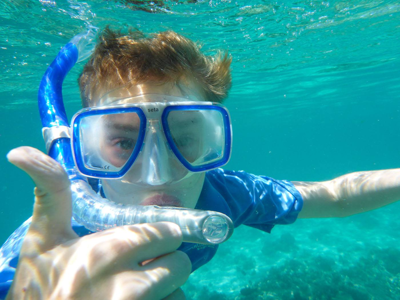 Tyler Snorkeling