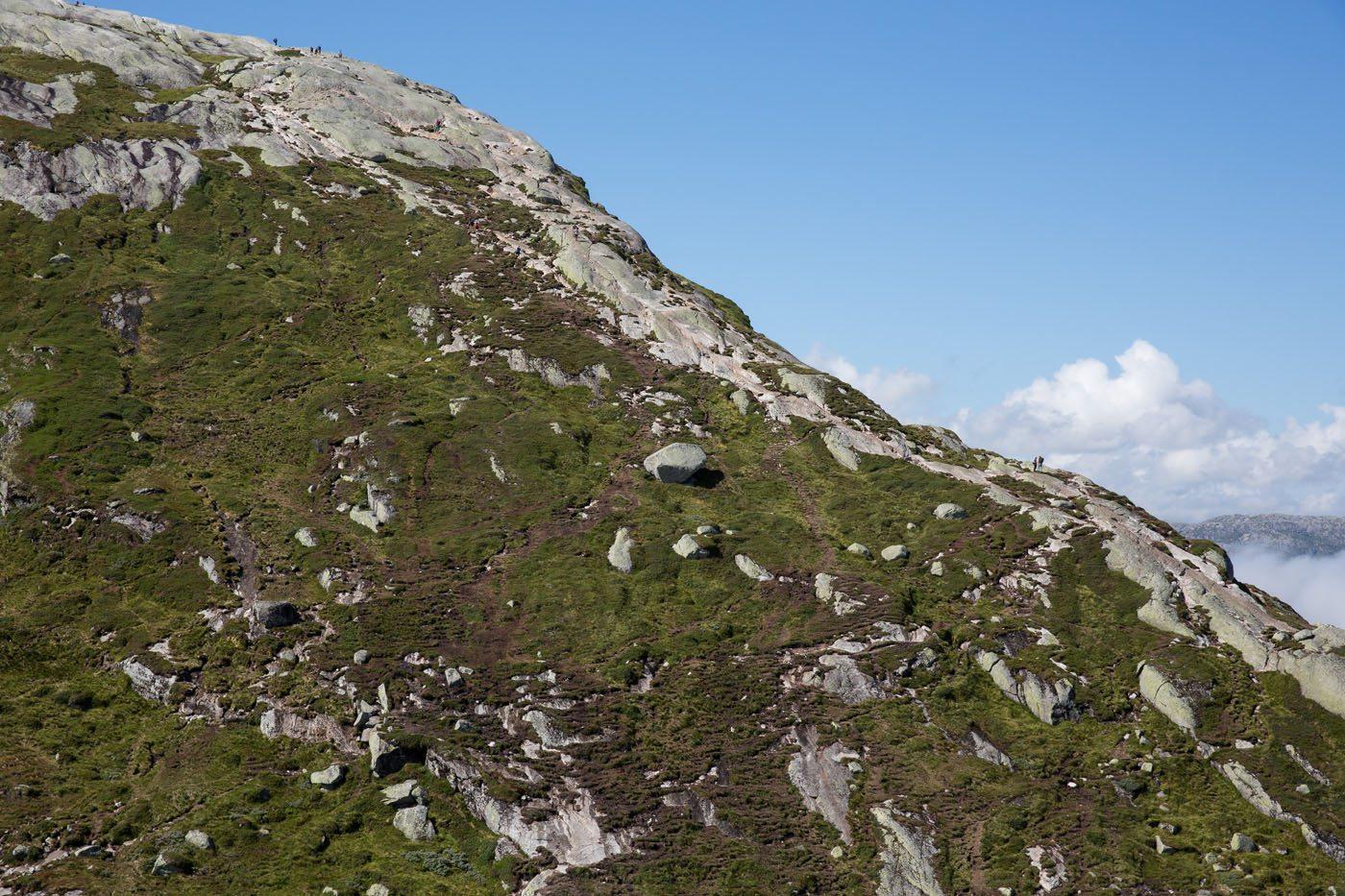 Final Climb to Kjerag