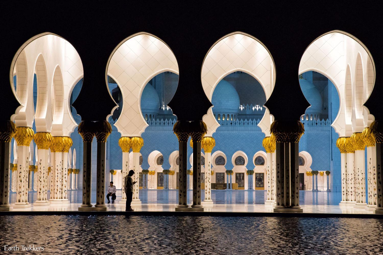 Sheikh Zayed Grand Mosque Abu Dhabi Night