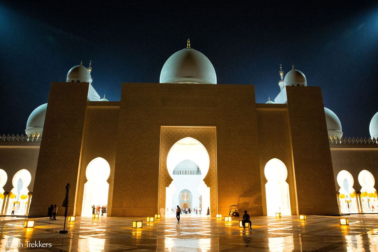 Grand Mosque at Night