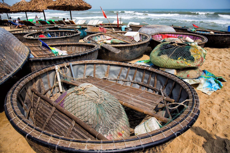 Hoi An Bamboo Fishing Boats
