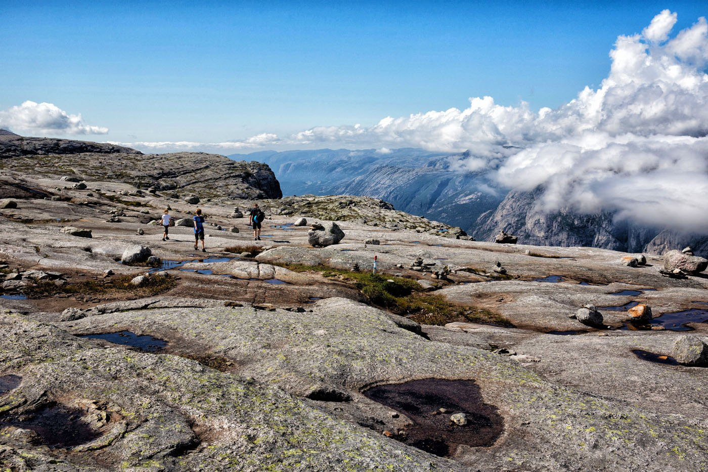 Kjerag Hike View
