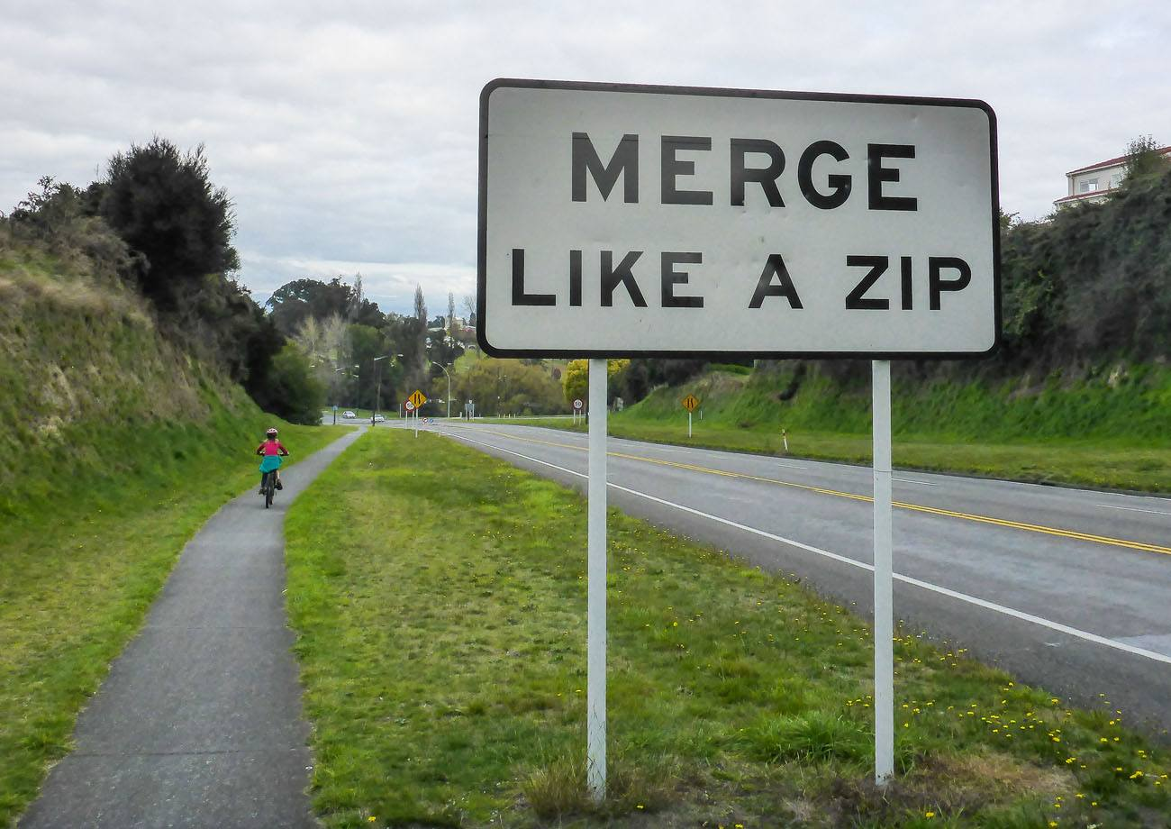 Merge Like a Zip