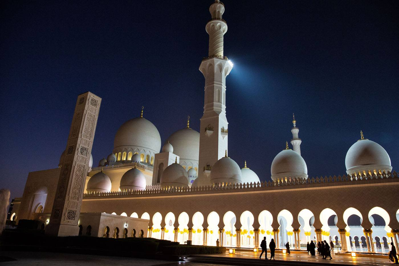 Nighttime Grand Mosque