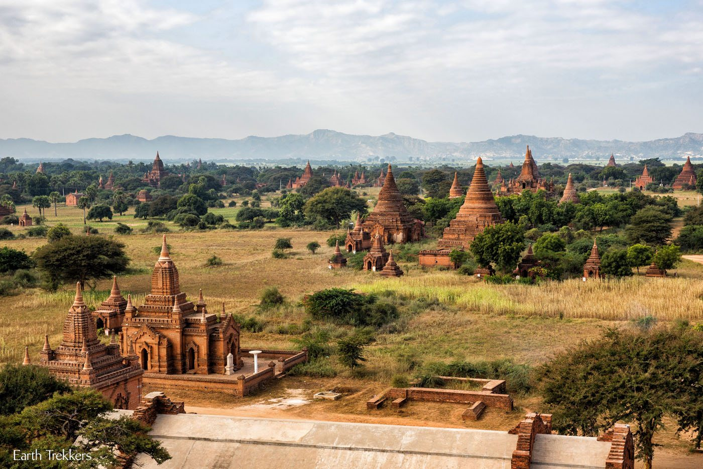 Temples of Bagan Myanmar