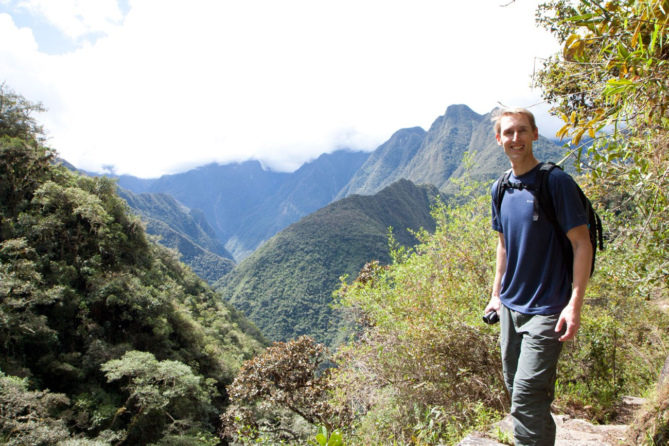 Tim on Inca Trail