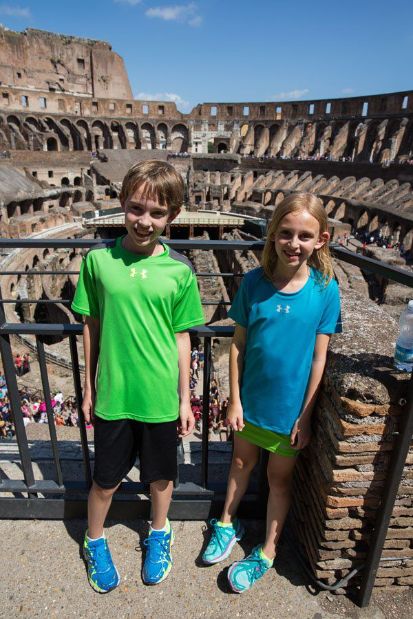 Tyler and Kara in Rome