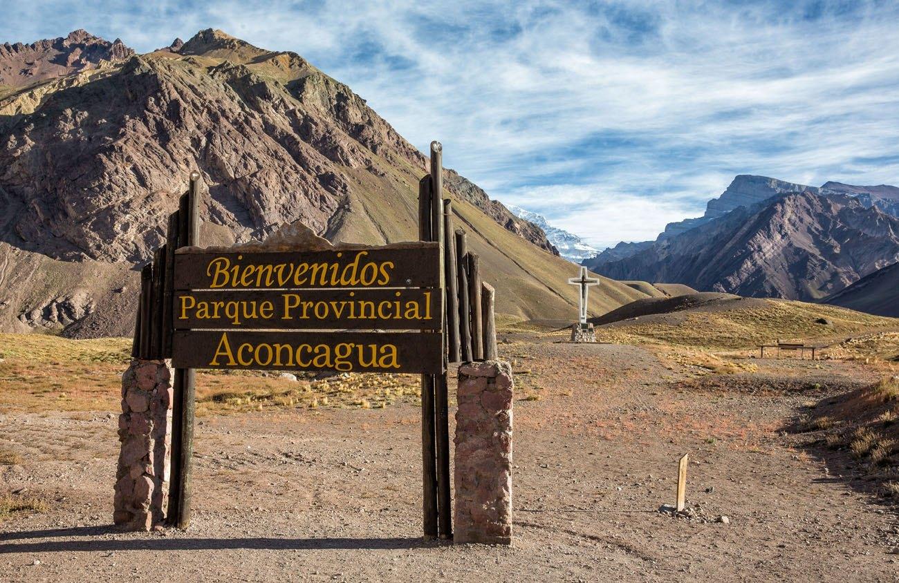 Bienvenidos Parque Provincial Aconcagua