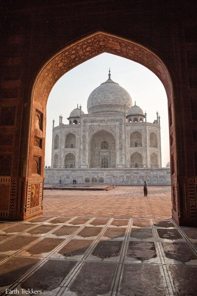 Cool View Taj Mahal