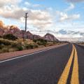 Driving Santiago to Mendoza Andes Mountains