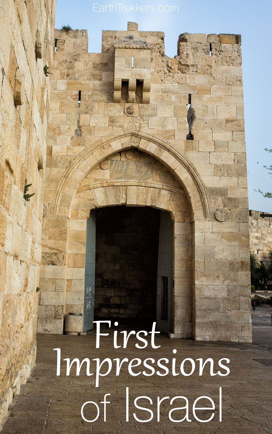 First Impressions of Israel