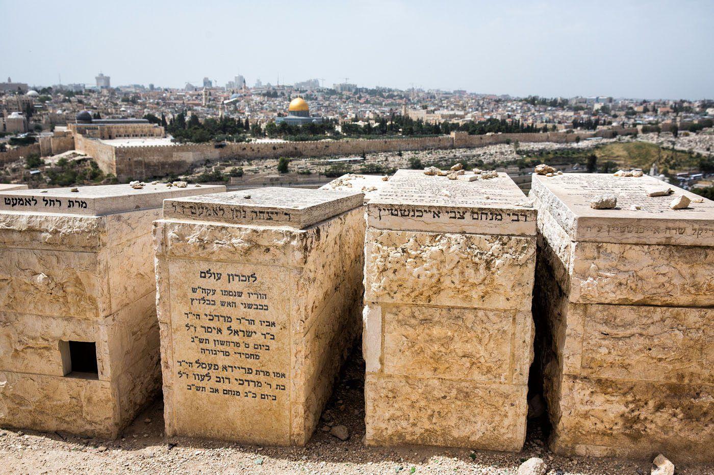 Graveyard Mount of Olives