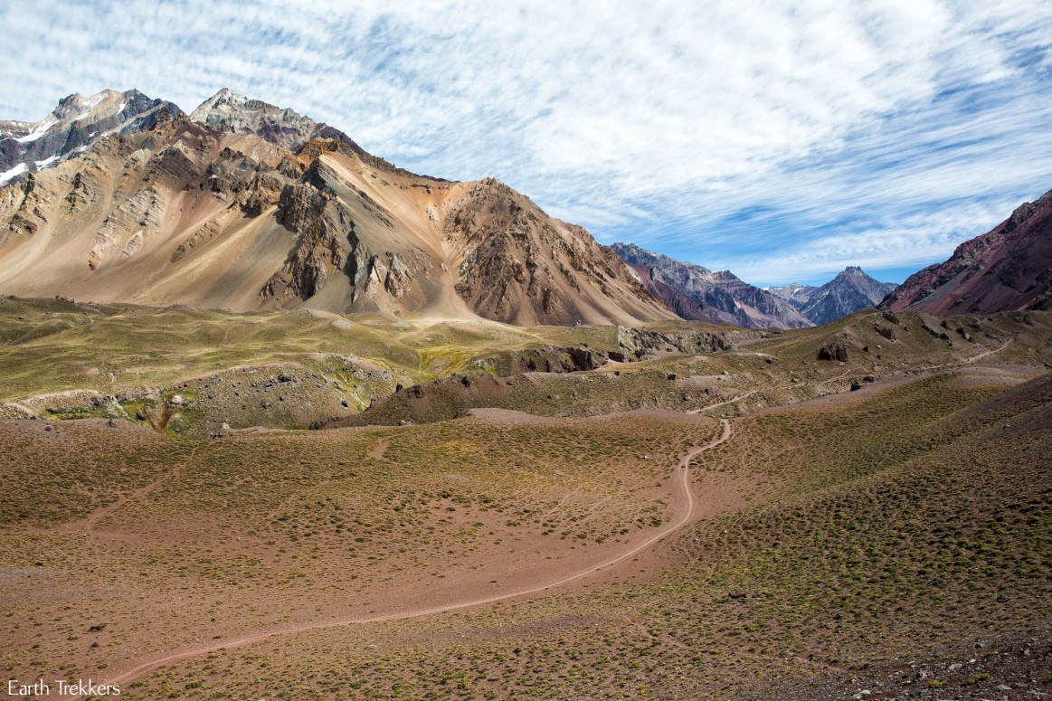 Hiking in Mendoza Argentina