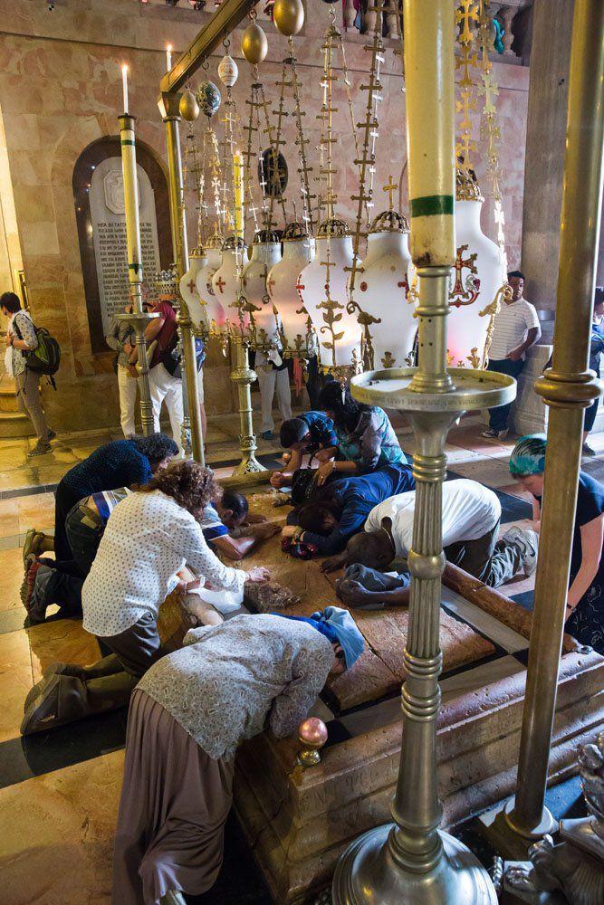 Inside Church Holy Sepulchre