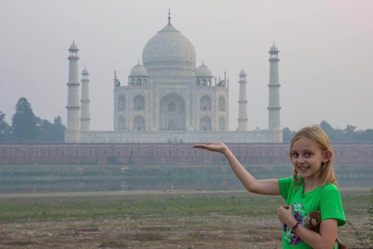Kara Rivenbark Taj Mahal