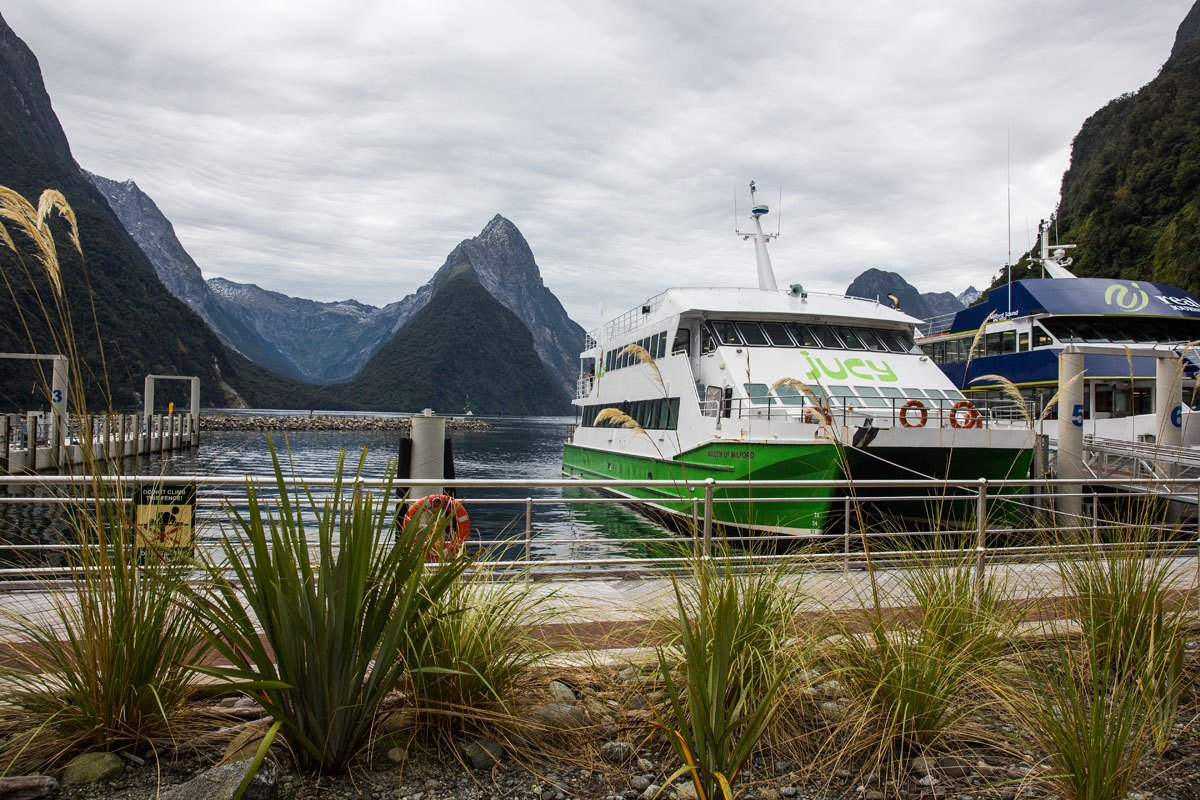 Milford Sound with Jucy