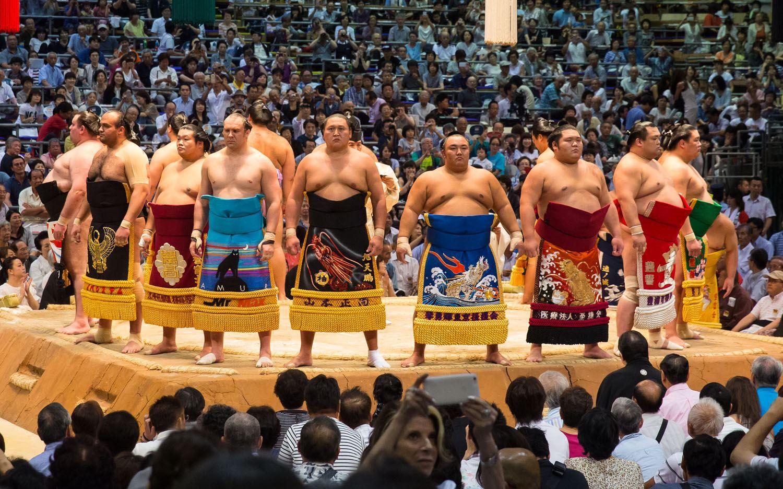 Sumo Wrestlers Japan