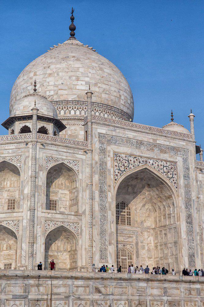 Taj Mahal Close Up
