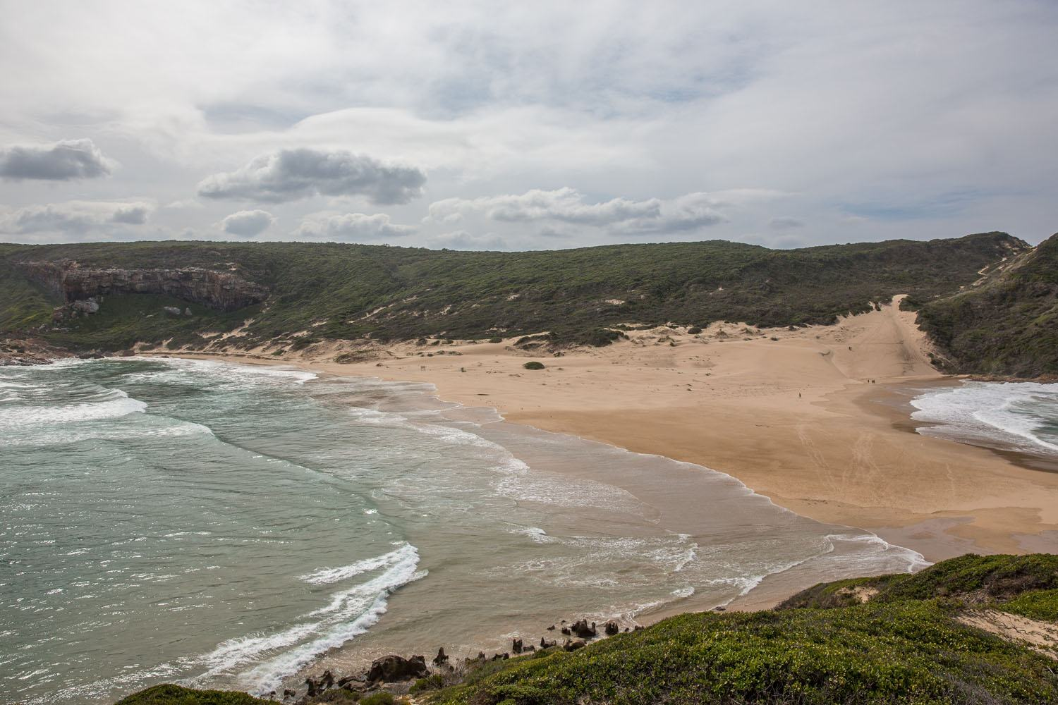 The beach on Robberg