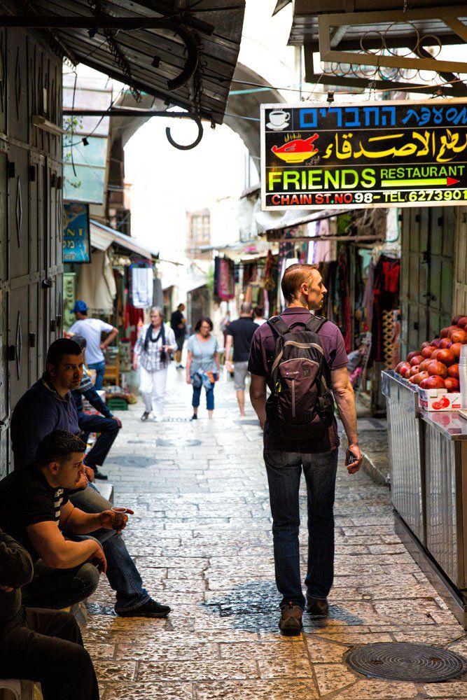 Tim Rivenbark in Jerusalem