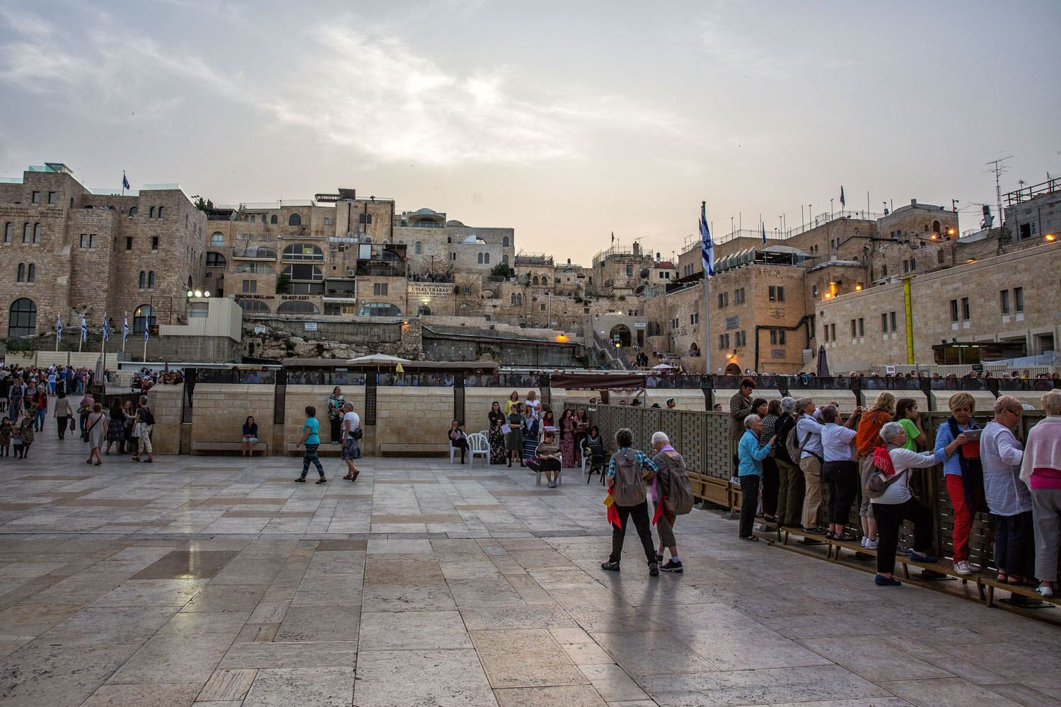 View from the Western Wall