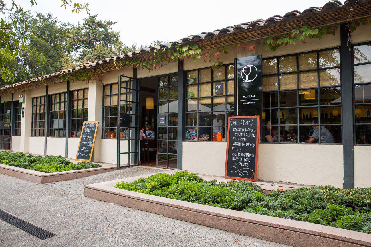 Wine Bar Concha Y Toro