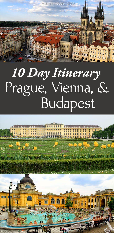 10 Day Itinerary Prague Vienna Budapest