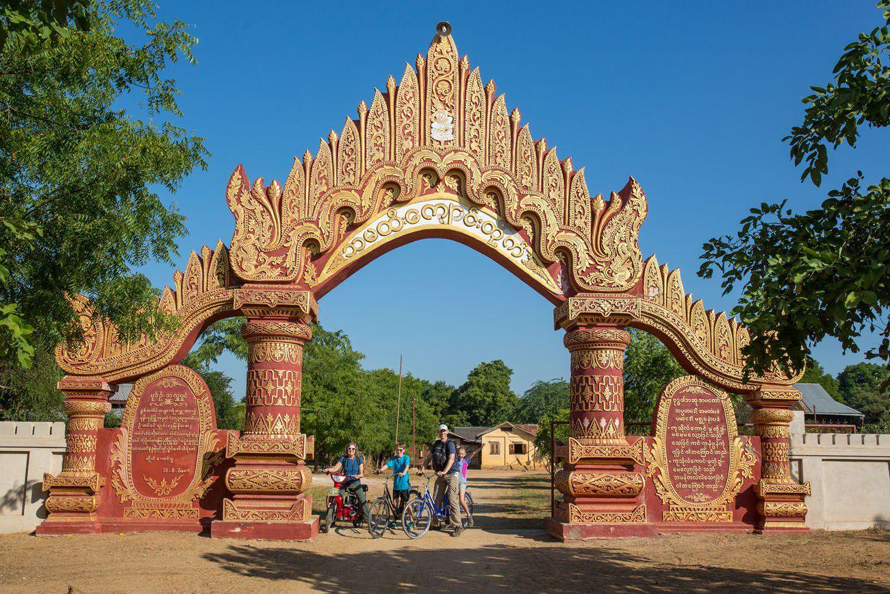 Cycling Bagan
