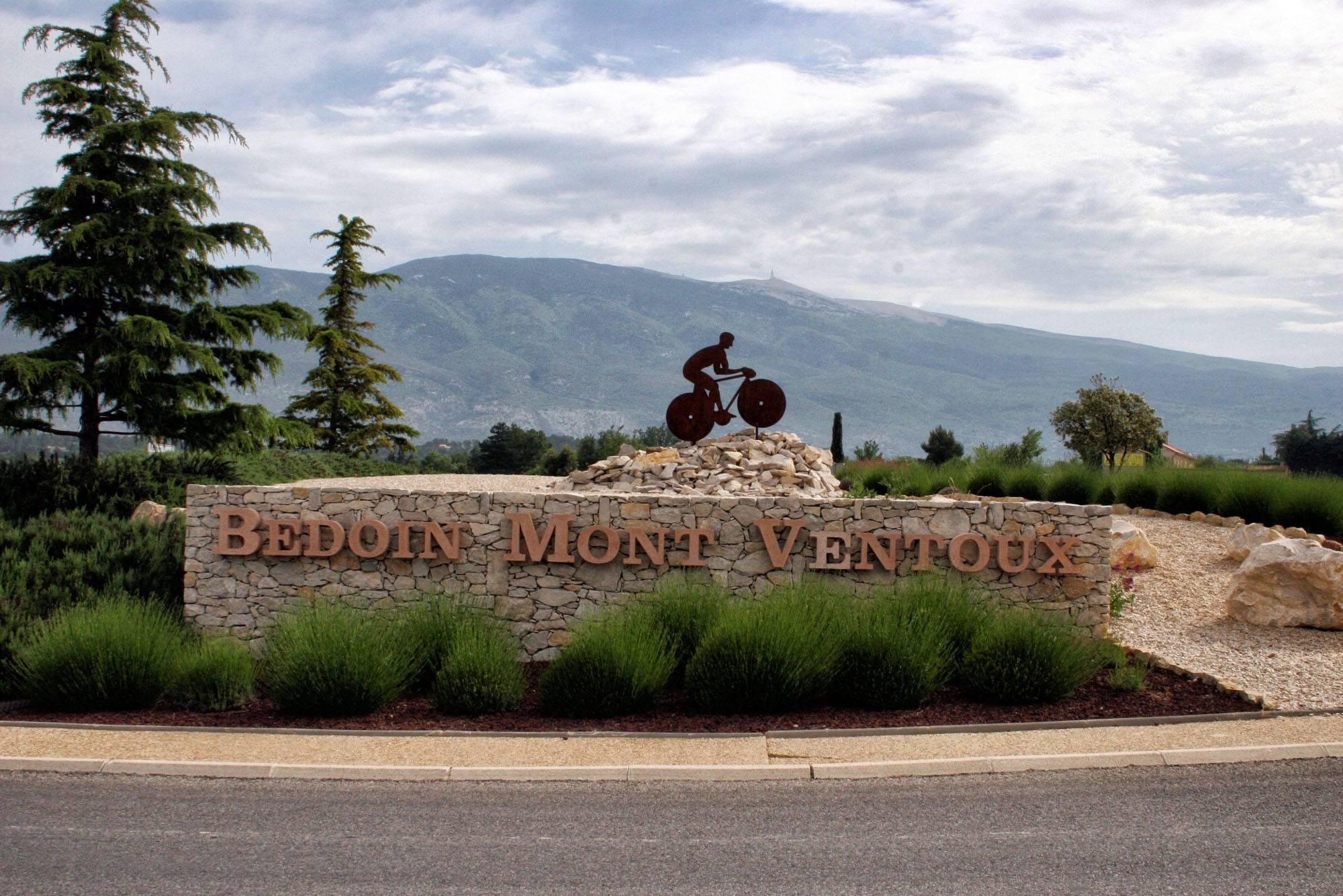 Cycling Mont Ventoux France