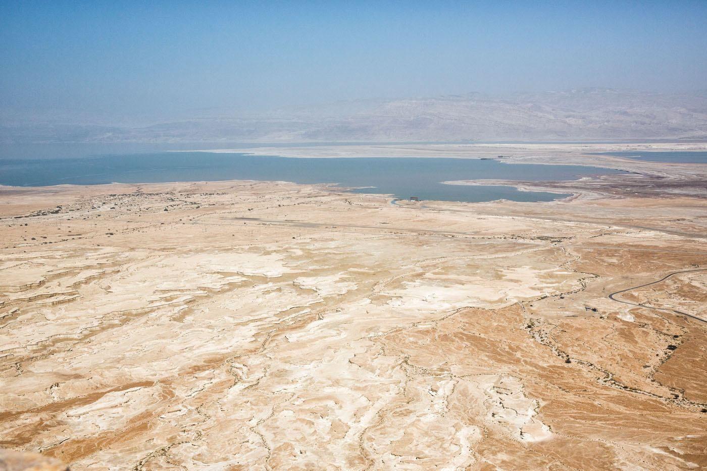 Dead Sea View from Masada