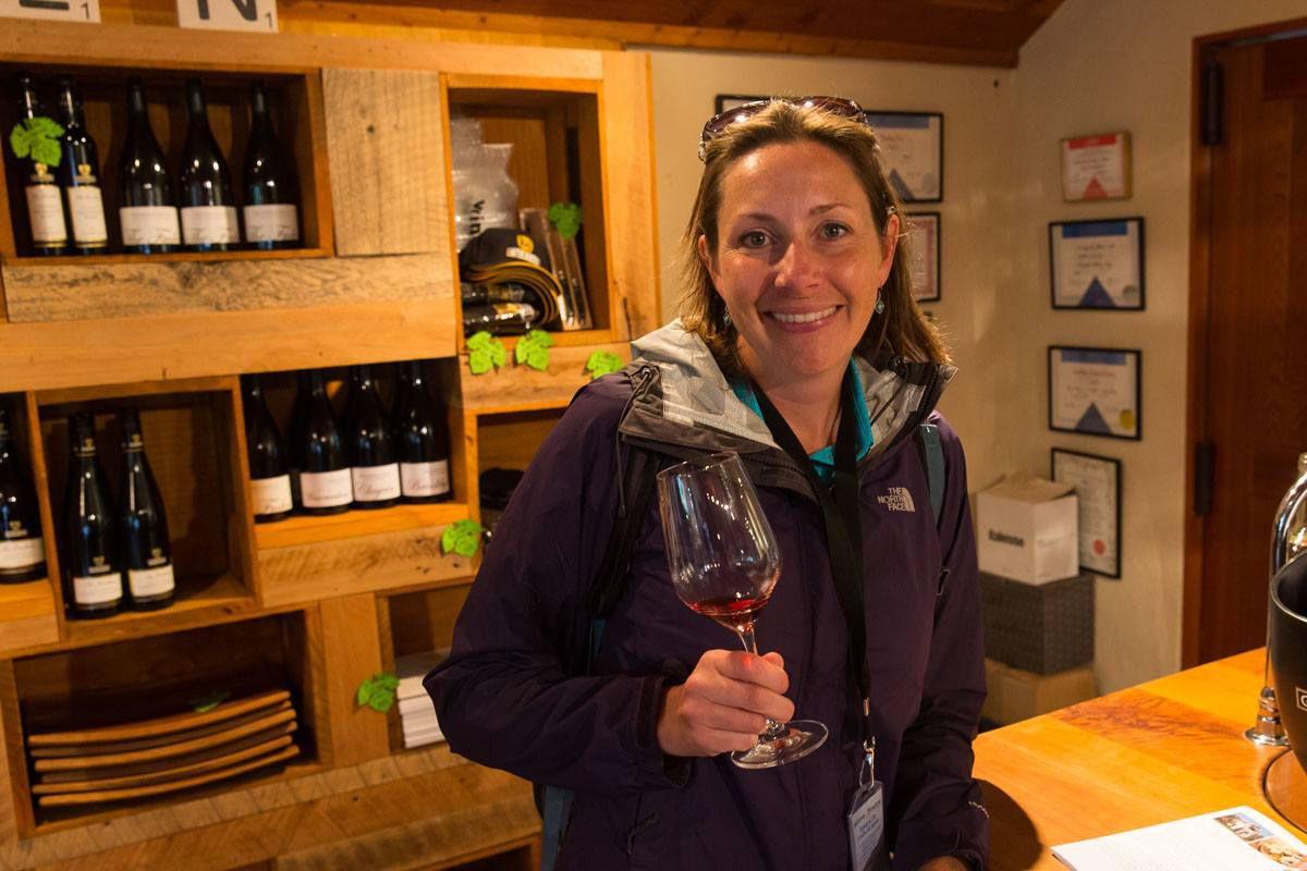 Julie Wine Tasting
