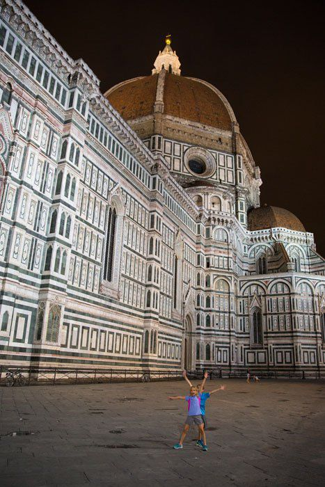 Kids in Florence