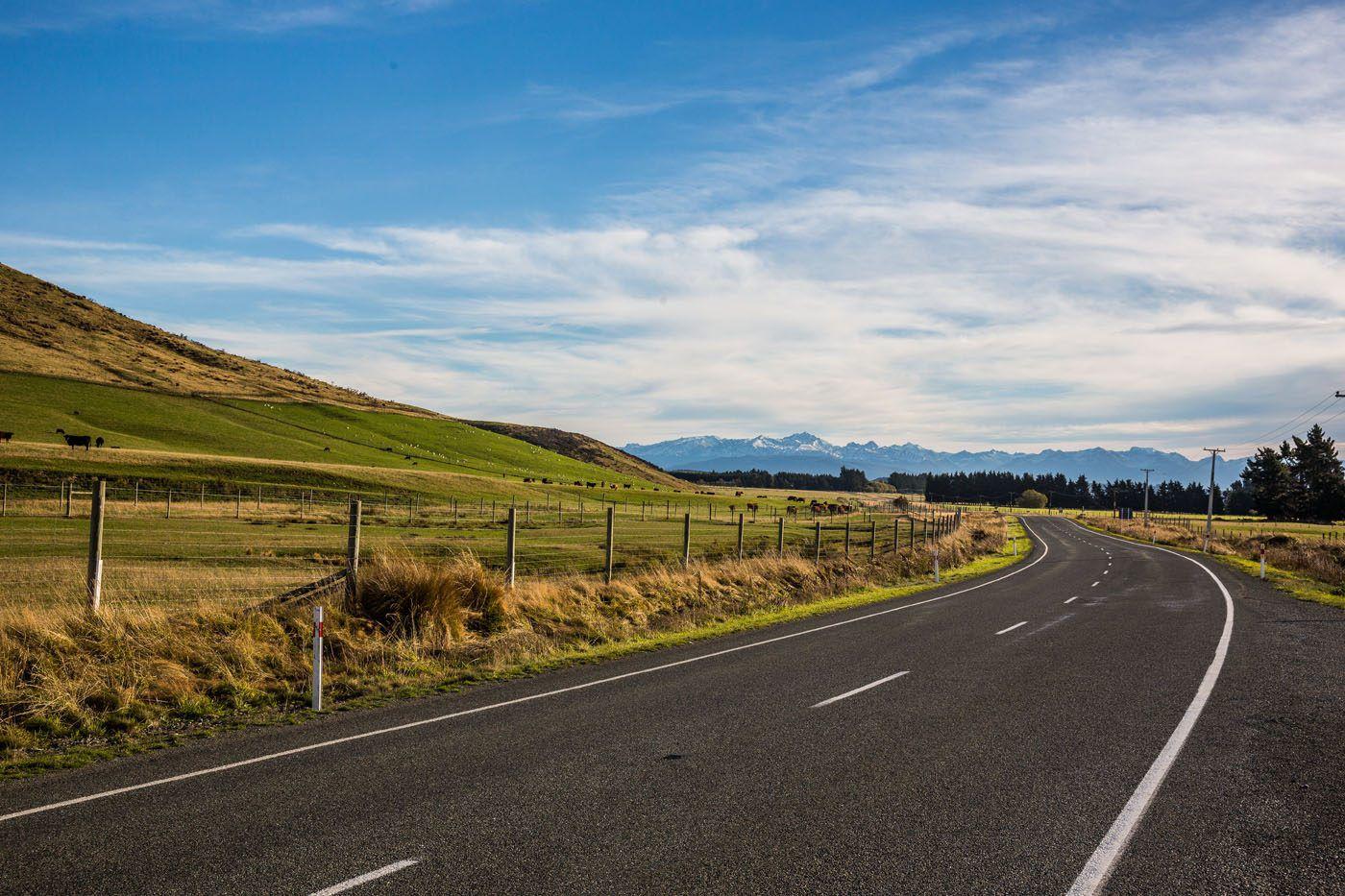 New Zealand South Island Road