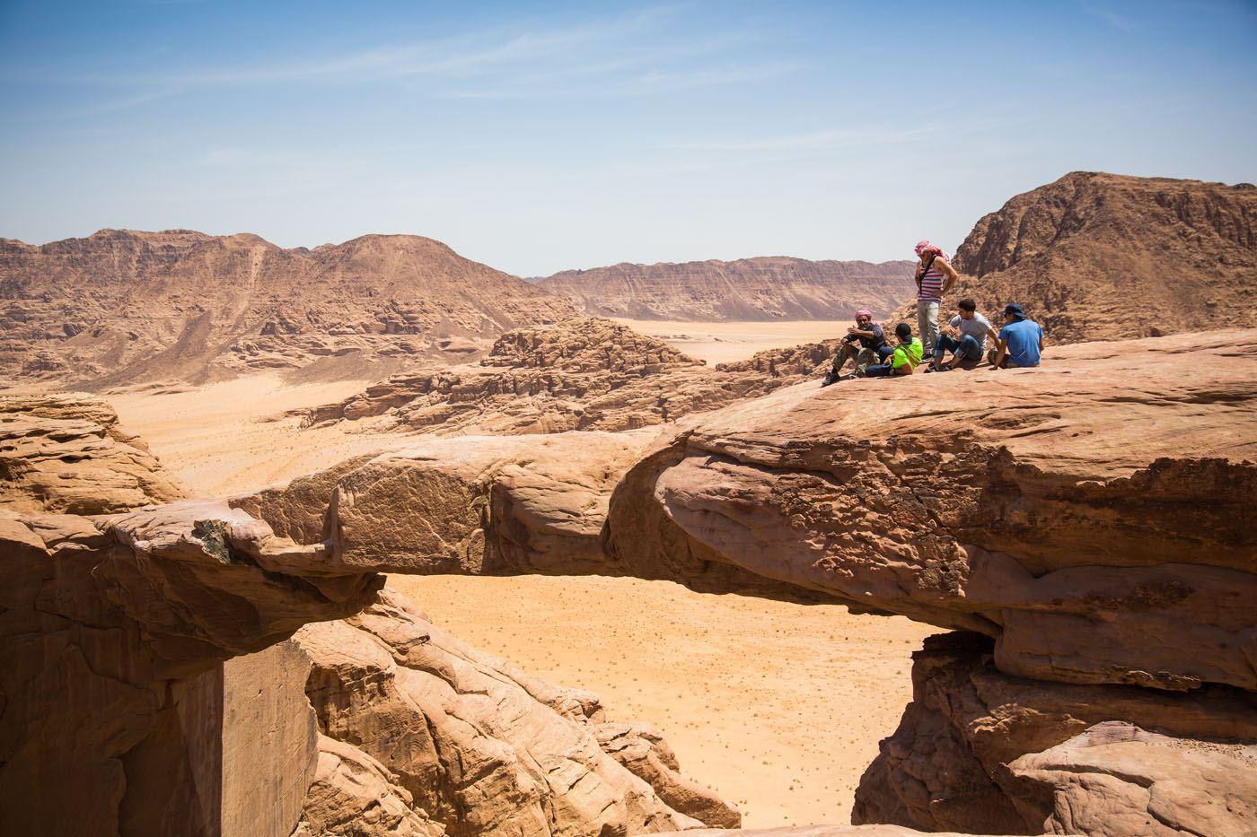 Rock Arch Hike Jordan