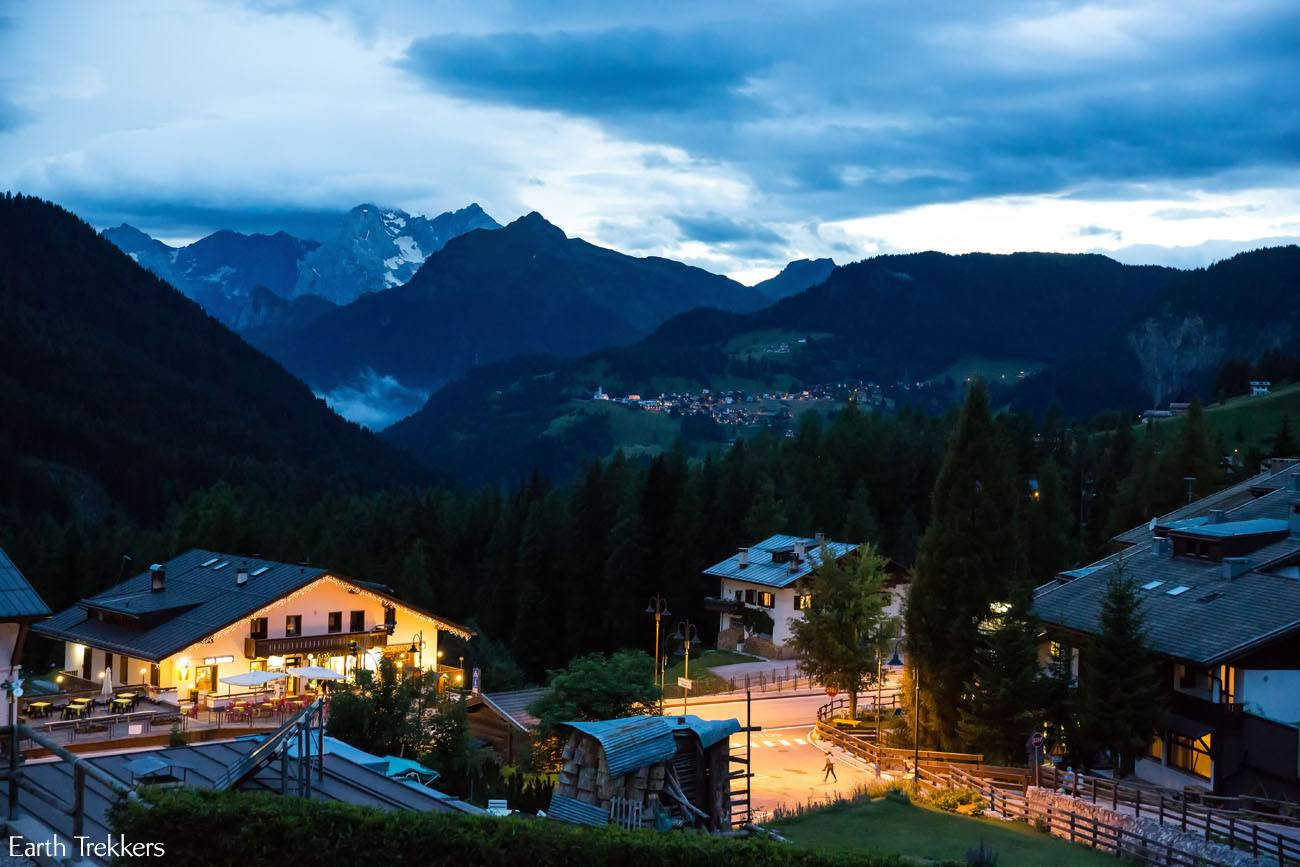 Selva di Cadore Night