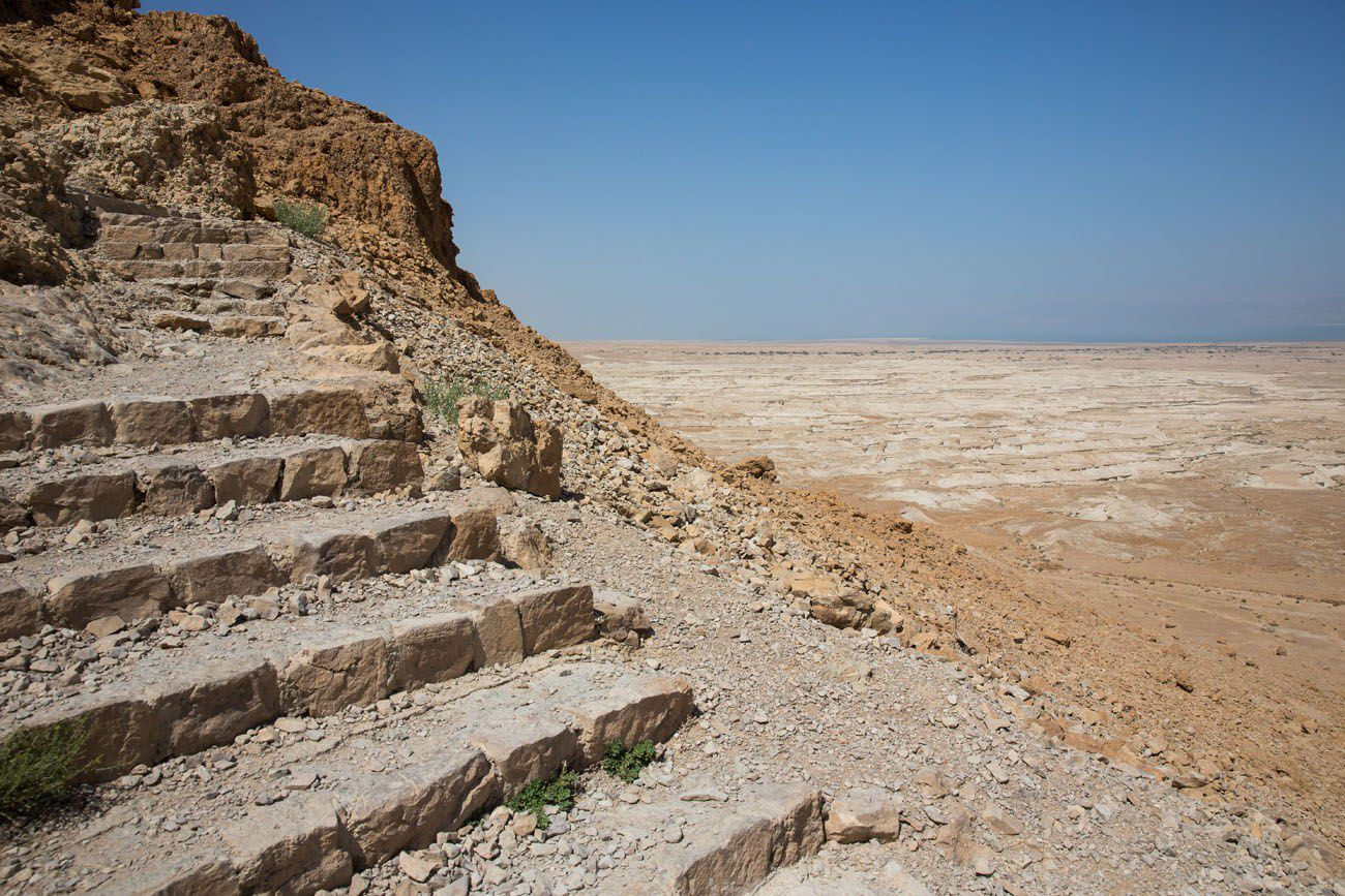 Stairs to Masada